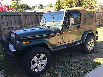 EBay: 1995 Jeep Wrangler Sahara Sport Utility 2 Door 1995 Jeep Wrangler  Sahara Sport Utility 2 Dooru2026 #jeep #jeeplife Usdeals.rssdata.net
