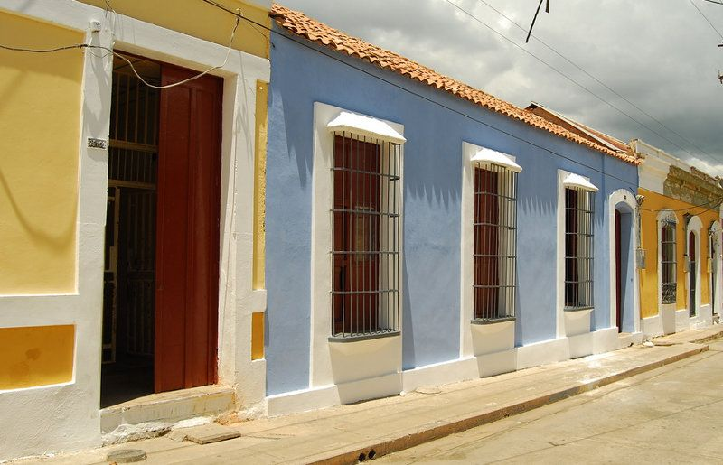 Casas coloniales pintura paredes pinterest casas - Fachadas de casas mexicanas rusticas ...