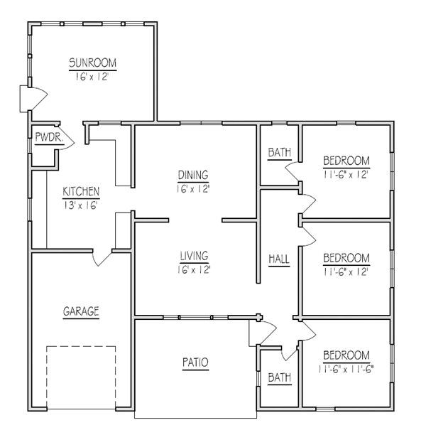 Home Additions Plan Drawings: New Home Addition Floor Plans (10) Solution In 2020