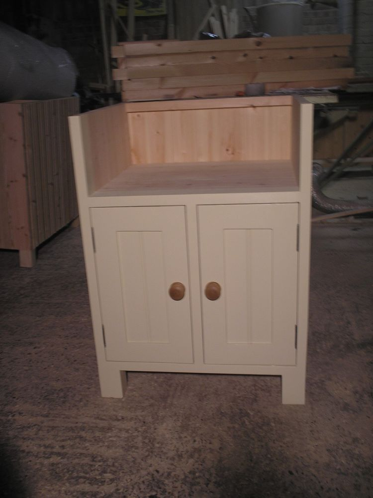 Freestanding Painted Kitchen Belfast Sink Unit Bbc 01 6