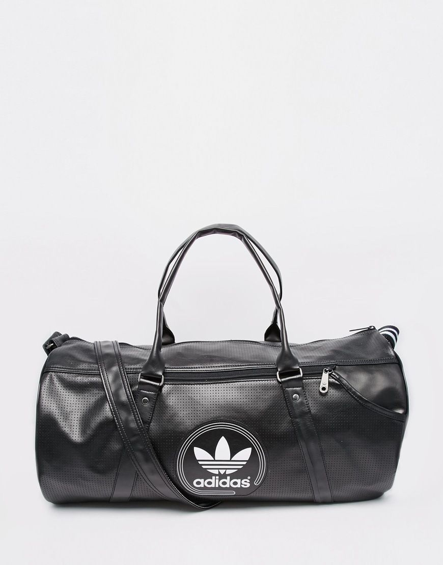 Image 1 of adidas Originals Perforated Duffle Bag 5fb2bfc8a8c55