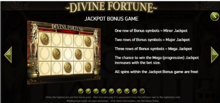 New Jackpot Slot Game Malaysia Divine Fortune Jackpot Fortune