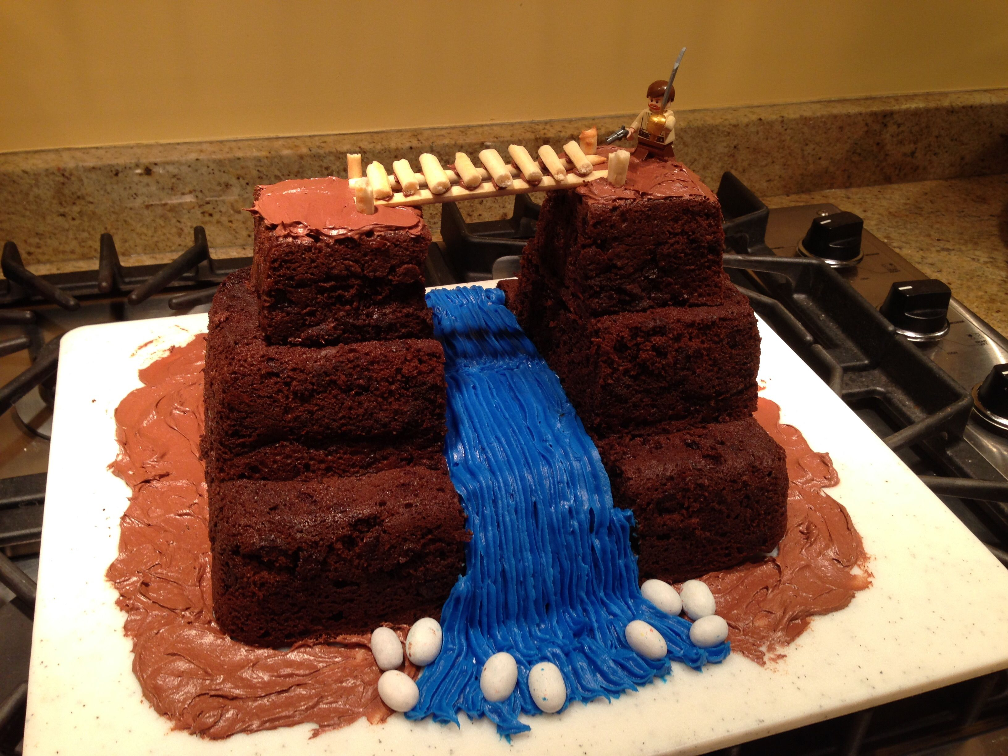 Indiana Jones temple of doom birthday cake