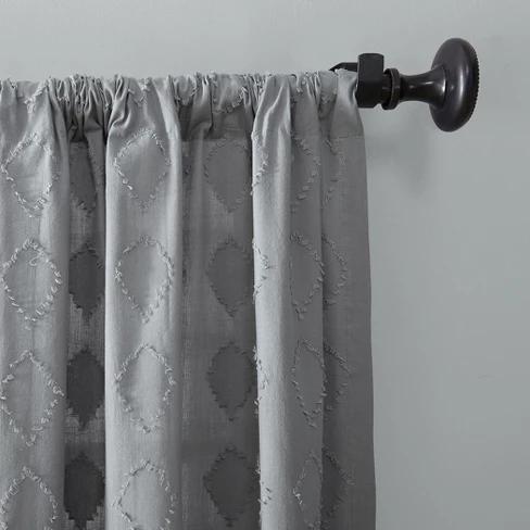 Diamond Fray Cotton Curtain Archaeo Cotton Curtains Curtains