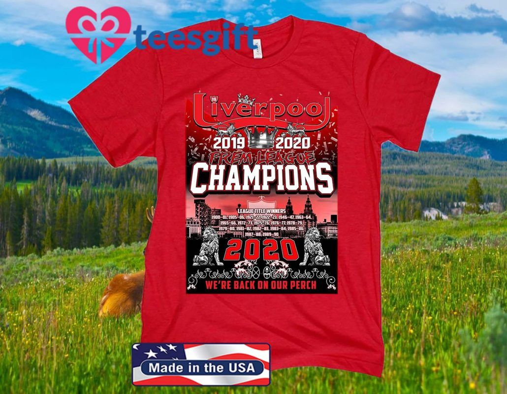 Red We are The Champions T-Shirt Liverpool