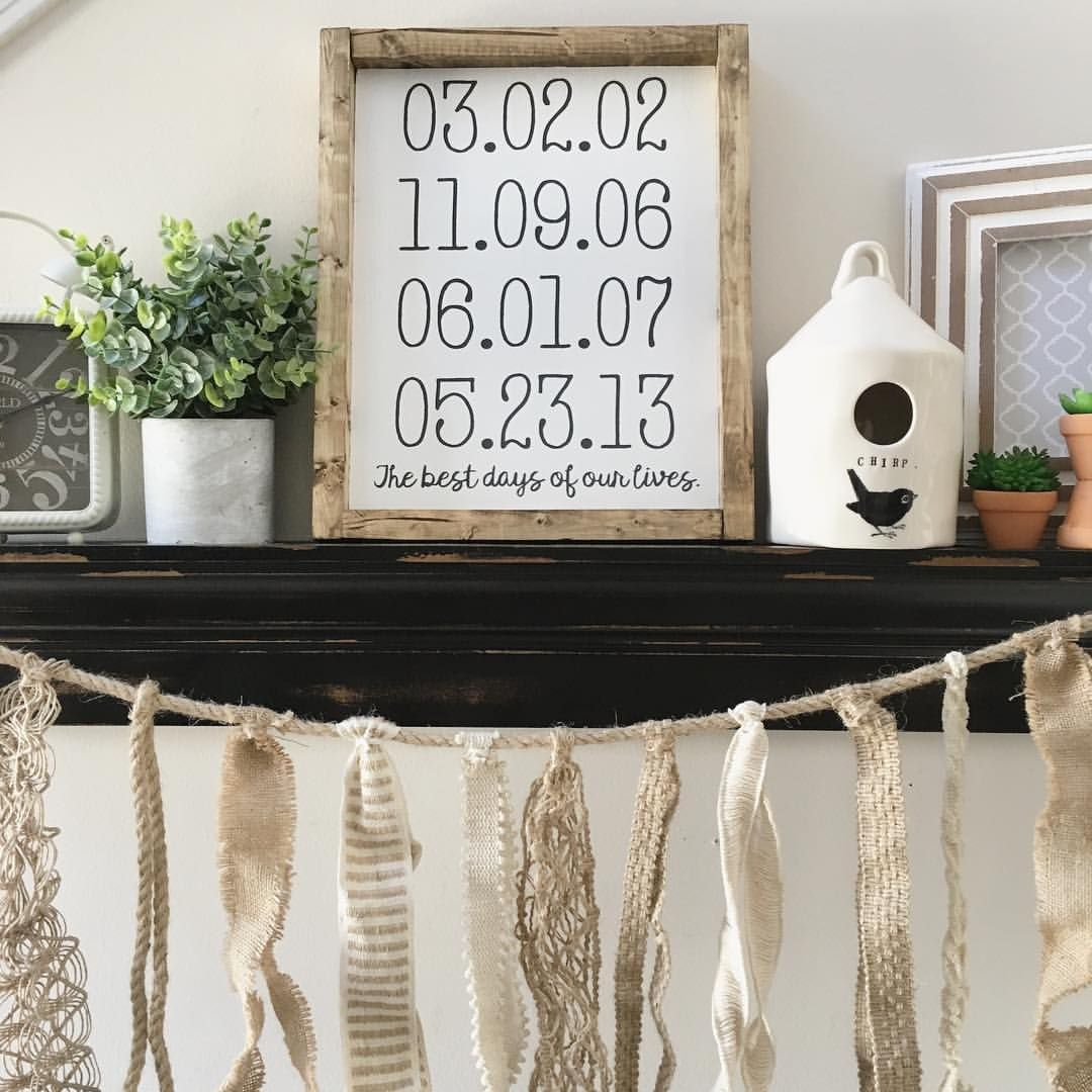 Farmhouse Style Wood Sign Family wood signs, Wood signs