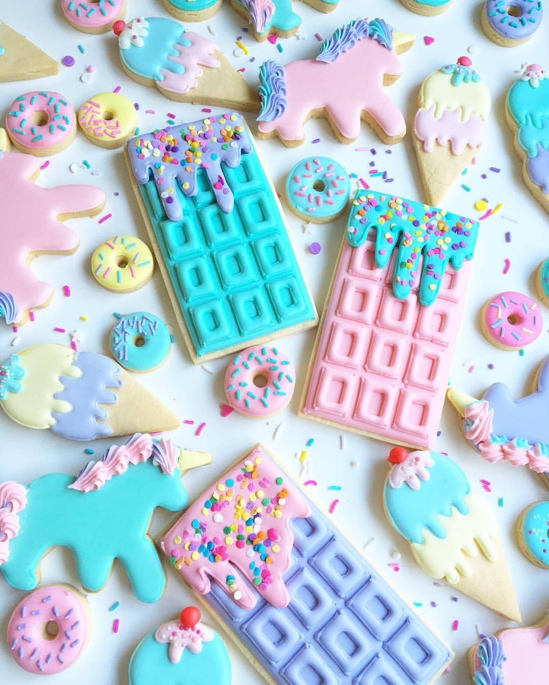 Acornmilk Sweets Cute Food Wallpaper Cute Desserts Unicorn Desserts