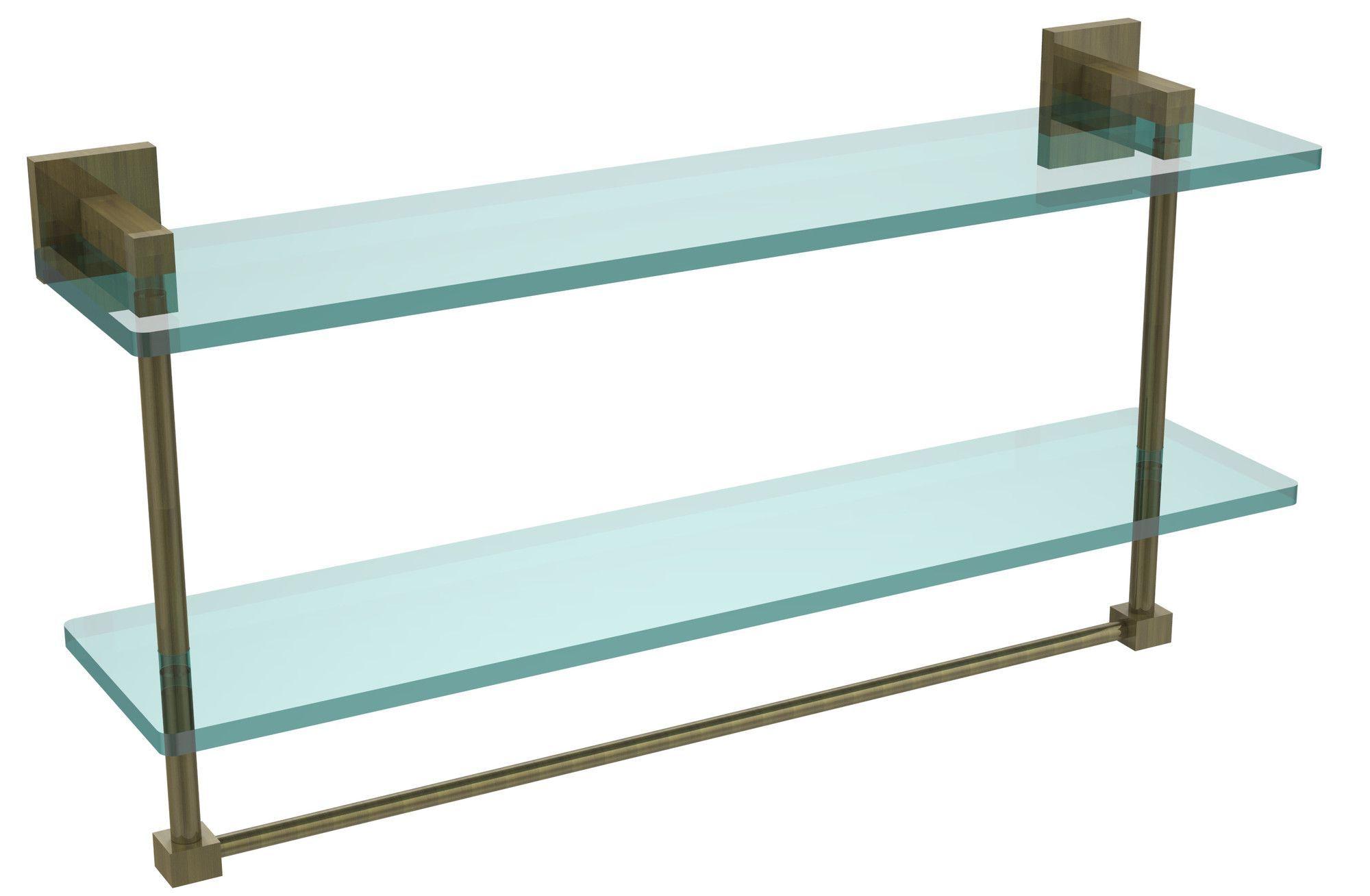 "Montero 22"" x 11.7"" Bathroom Shelf"