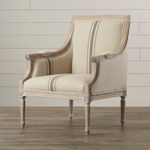 I have been on the hunt for farmhouse accent chairs for my bedroom ...