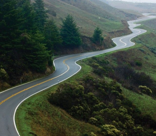 Life is a long and winding road.