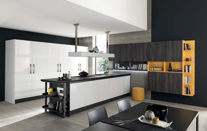Marina Line - Cucine Moderne - Febal Casa   KITCHEN   Pinterest ...