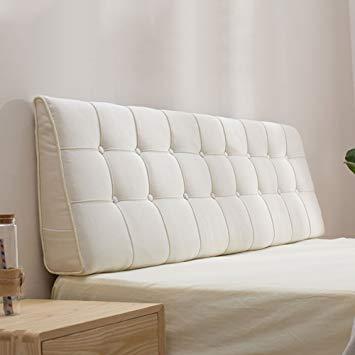 Amazon Com Liangjun Headboard Cushion Wall Pillow Linen Fabric