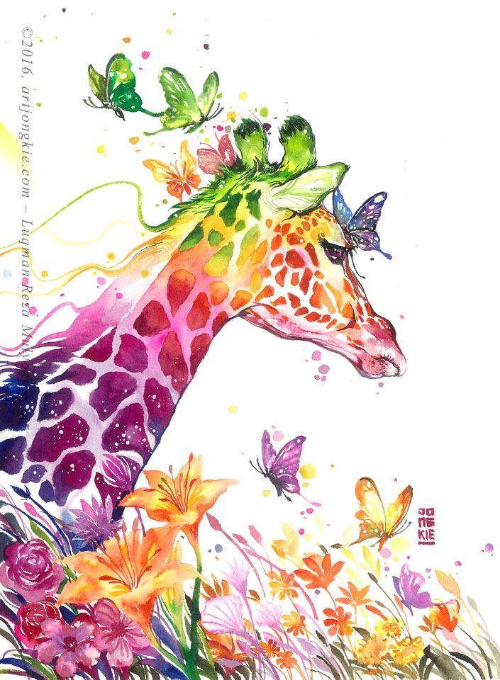 Artjongkie firdaus art pinterest malen aquarell for Pinterest malen