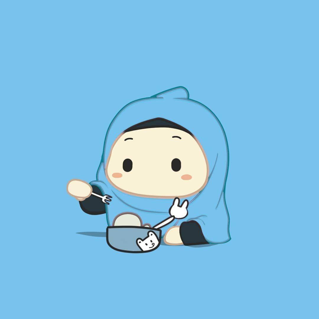 Foto Kartun Muslimah Emoticon Di 2021 Kartun Ilustrasi Karakter Kartun Gadis