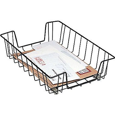 wire formed legal size tray black lisa bill pinterest