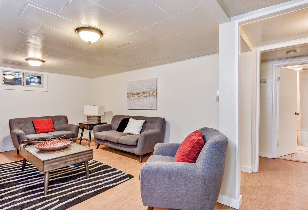 Basement Living Room Staging Ideas Basement Living Rooms Living Room Staging Living Room Staging Ideas