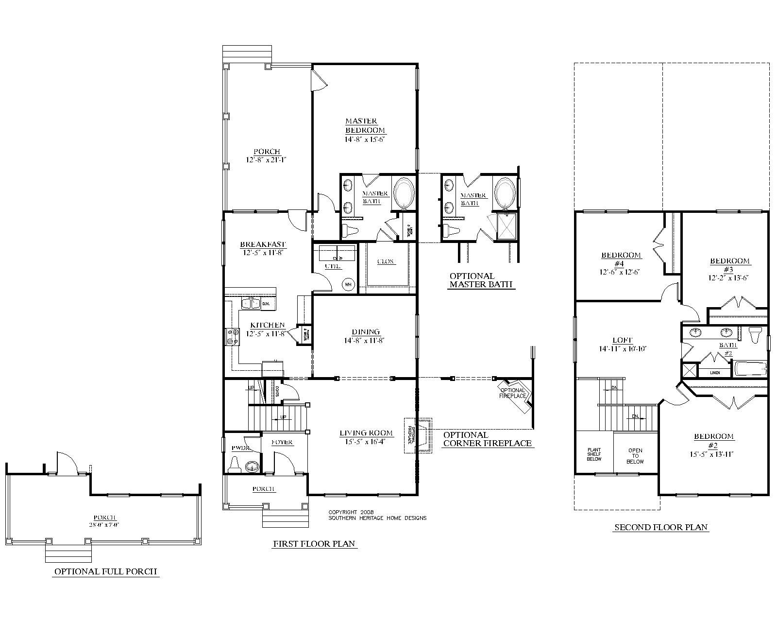 House plan 2402 blair floor plan 2402 square feet 28 0 wide by house plan 2402 blair floor plan 2402 square feet wide by deep 4 baths formal dining room optional full porch jameslax Image collections