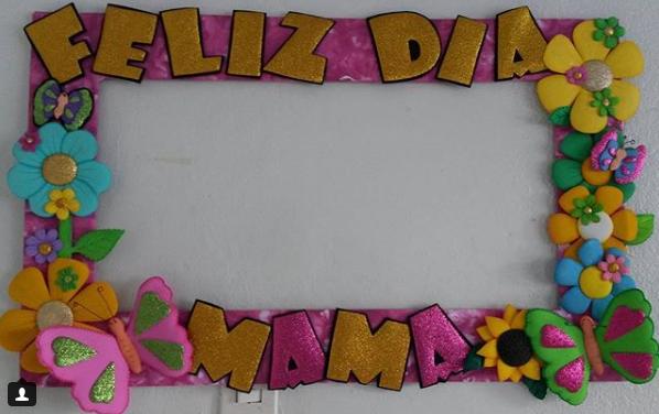 Marco para selfie Dia de la madre | marcos para selfies | Pinterest ...