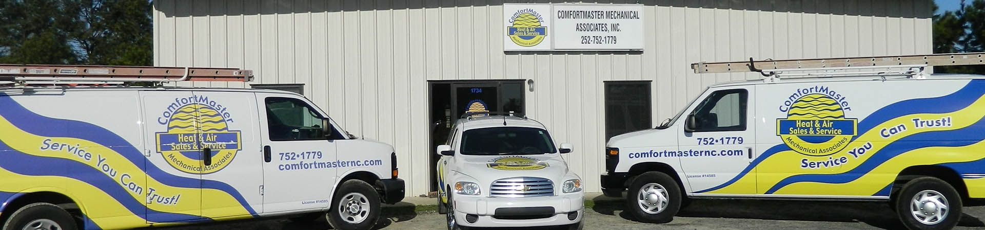The NATECertified technicians at ComfortMaster Mechanical