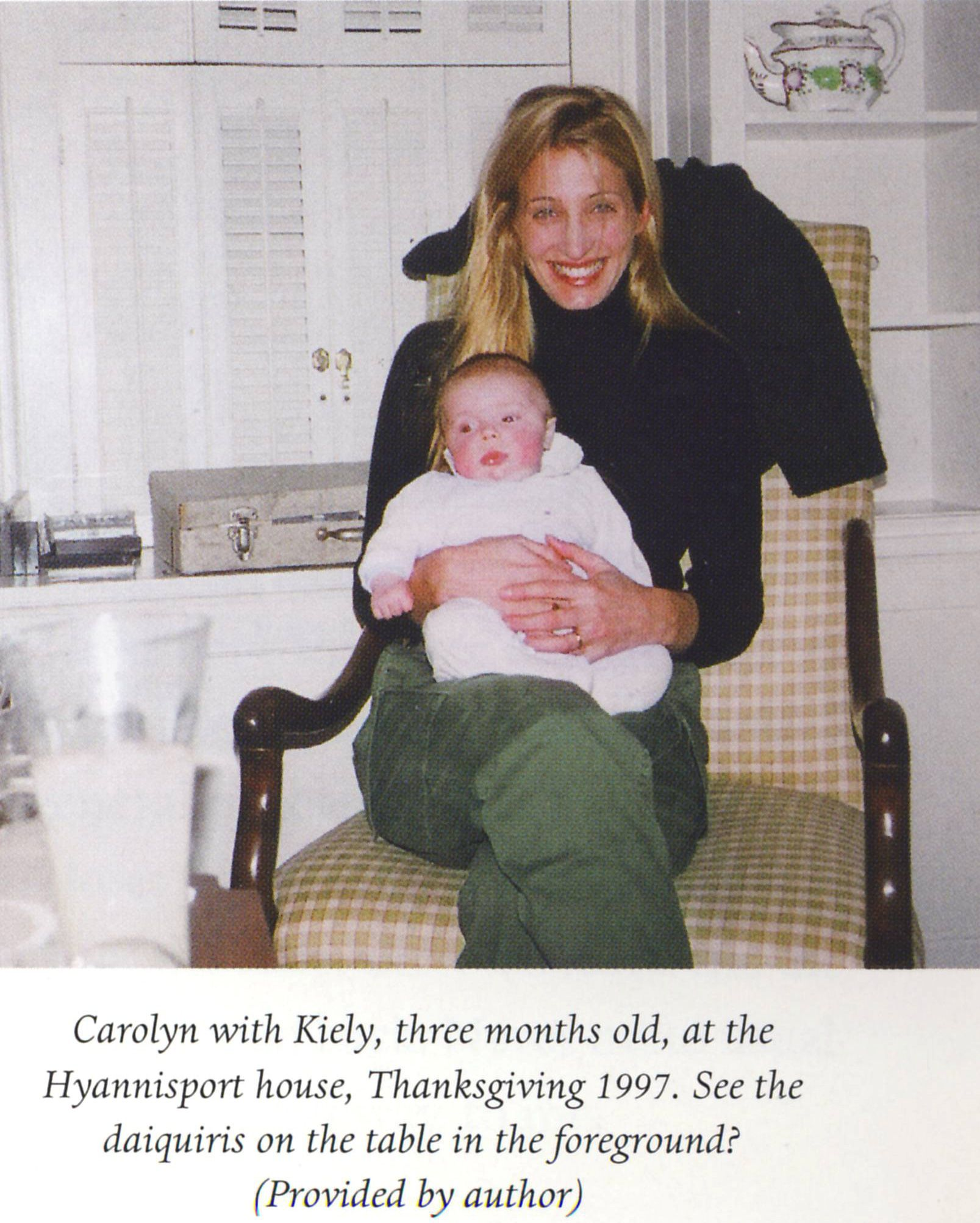November 1997 – Thanksgiving With Billy Noonan And Family Carolyn Bessette
