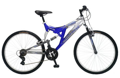 7ccb38a8e9f Mongoose Maxim 26 Men's Full-Suspension Mountain Bike, $149.00,  UrbanScooters.com