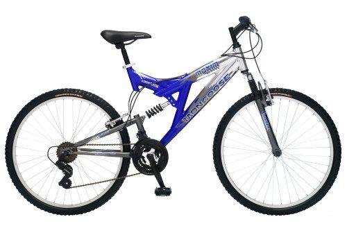Mongoose Maxim 26 Men's Full-Suspension Mountain Bike