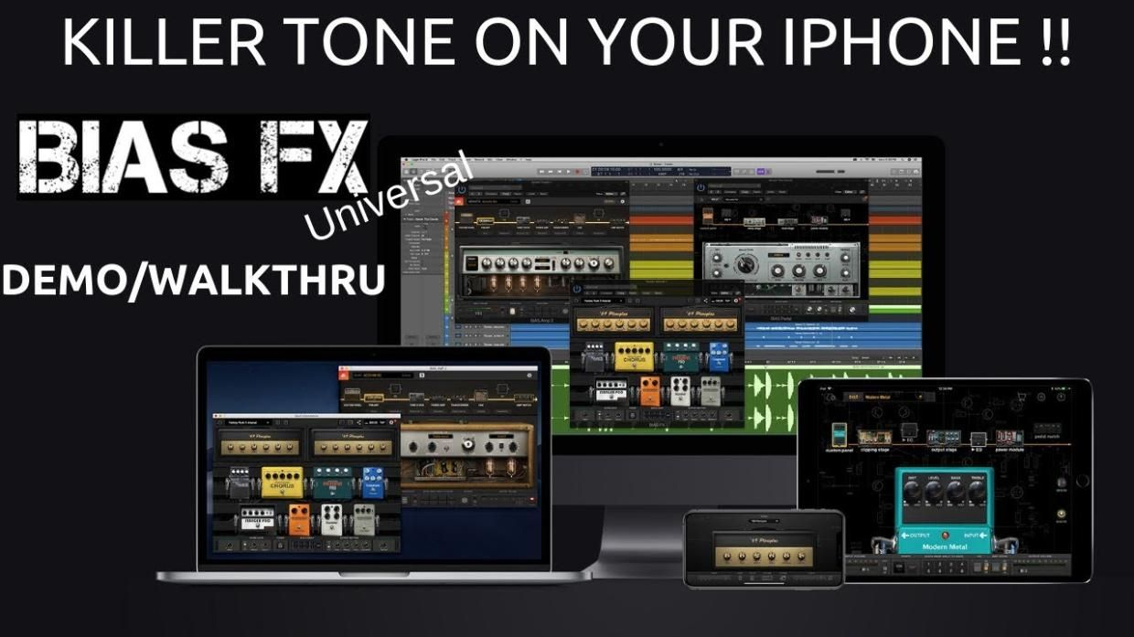 Get the ultimate in guitar tones right from your iPhone (free app