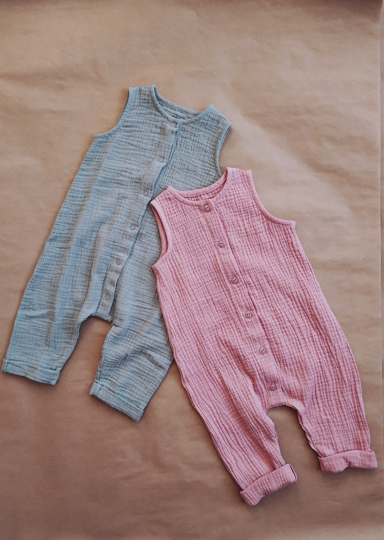 Bio Fleece Stoff Natur Shop Pinterest Muslin Organic Cotton Double Gauze Jumsuits Tsiomikkids Kids