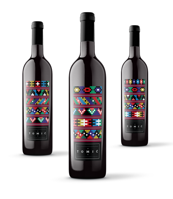 Tomić Family - Wine Label