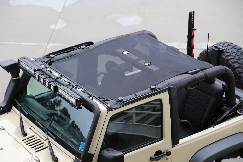 Eclipse Sun Shade Black 07 16 Jeep Wrangler Jk Jku Jeep Wrangler Jeep Wrangler Jk Jeep