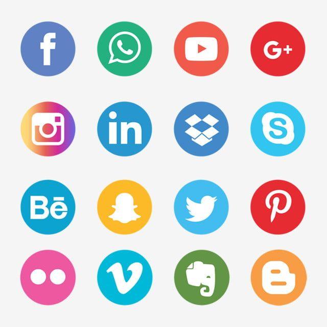 Black Social Media Icon Set Share App Web Multimedia Digital Marketing Collection Linked Device Talk In 2020 Social Media Icons Social Media Icons Free Media Icon
