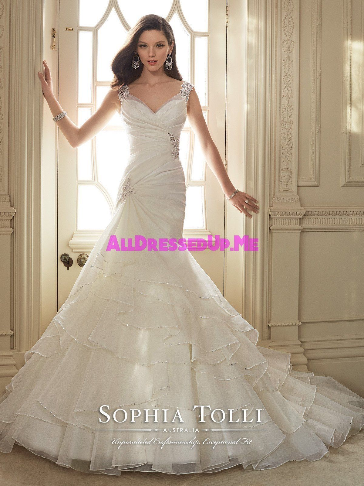 Sophia Tolli Thema Y11647 All Dressed Up Bridal Gown