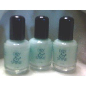 Creative Nail Design Cnd Dry Shine 37ml 0125oz Lot Of 3
