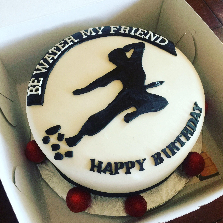 Bruce Lee inspired cake Cake, Karate cake, Rum cake