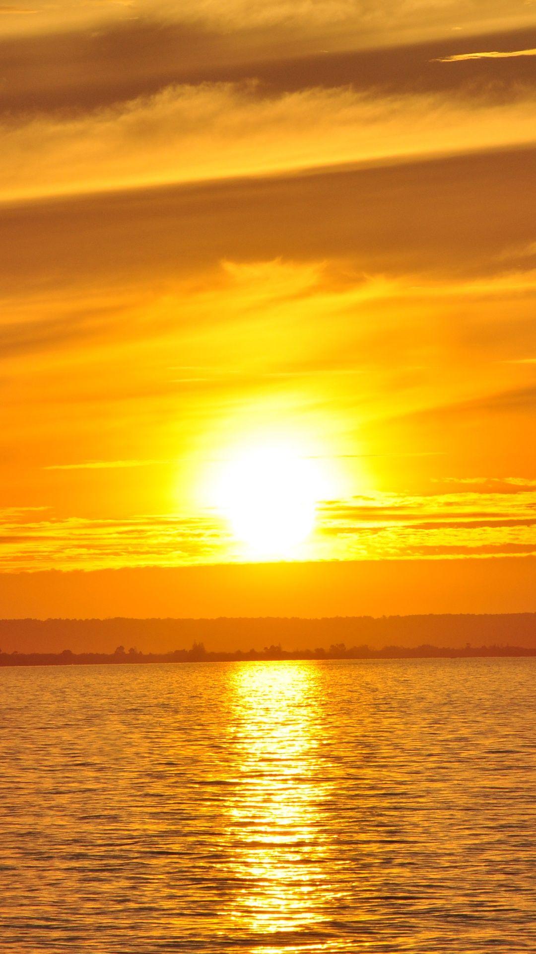 金色の海 ゴールドiphone6s壁紙 Iphone6s 6plus壁紙 待受画像ギャラリー 風景 美しい風景写真 金色 壁紙