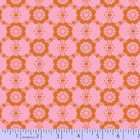 Mostly Manor - Pink Mary - Victoria Findlay Wolfe - Marcus Fabrics