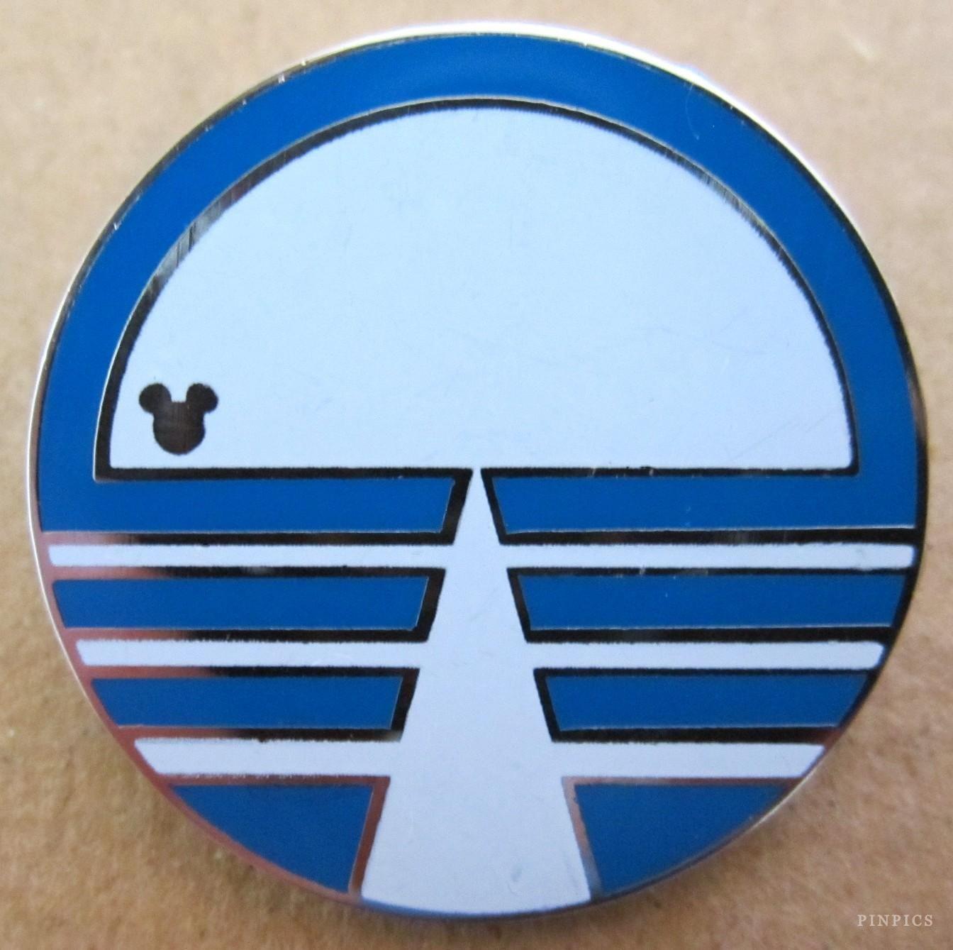 WDW - 2015 Hidden Mickey Series - EPCOT Center Logos - Horizons - Pin 108459