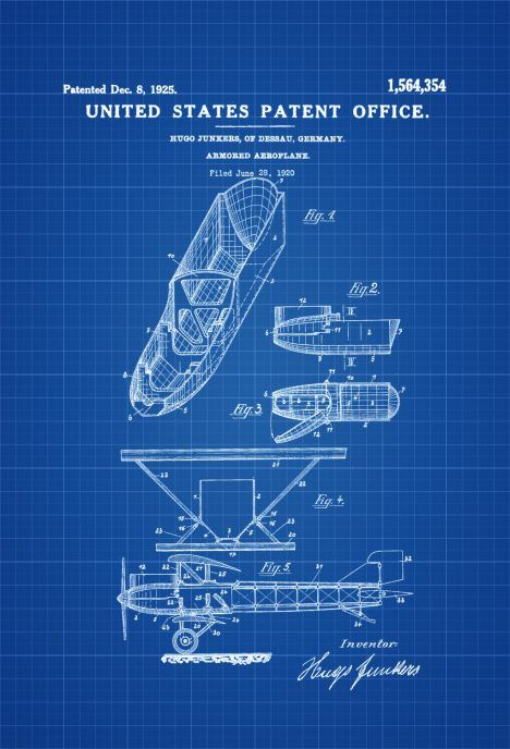 Junkers armored airplane print vintage airplane airplane junkers armored airplane print vintage airplane airplane blueprint airplane art pilot gift aircraft decor airplane poster junkers malvernweather Image collections