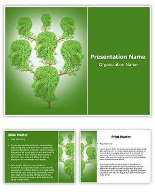 prepare effective non profit marketing material with our family, Powerpoint templates