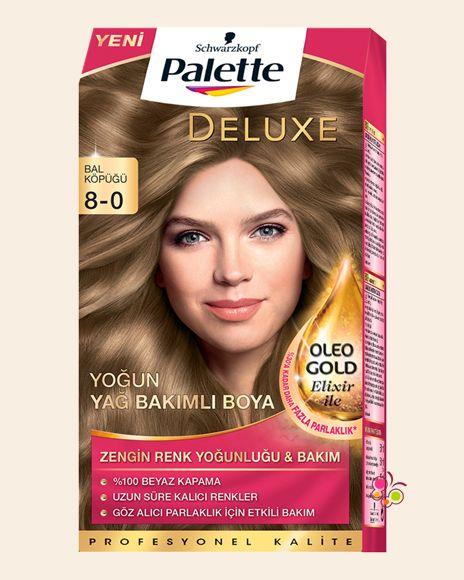 Palette Set Sac Boyasi 8 0 Bal Kopugu Sac Yag Palet