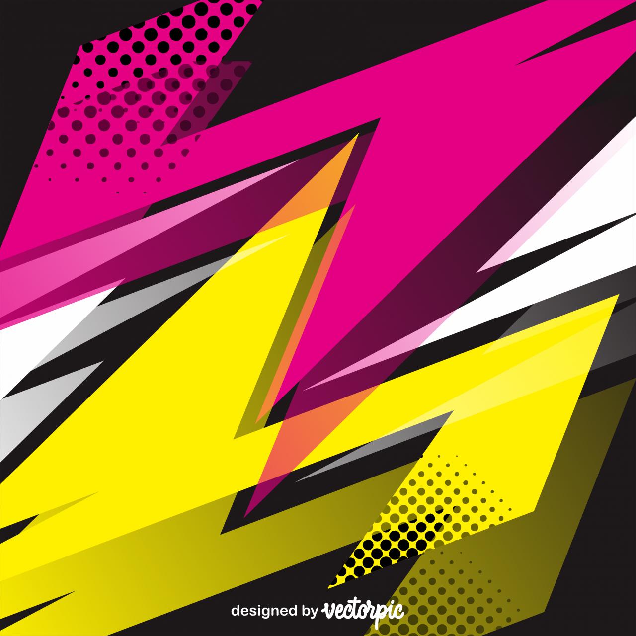Racing Stripes Streaks Background Free Vector Ilustrasi Grafis Seni Geometris Desain Latar Belakang