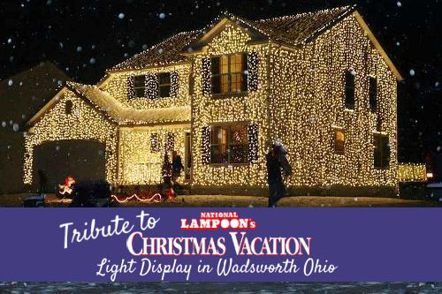 Tribute to National Lampoon's Christmas Vacation Light