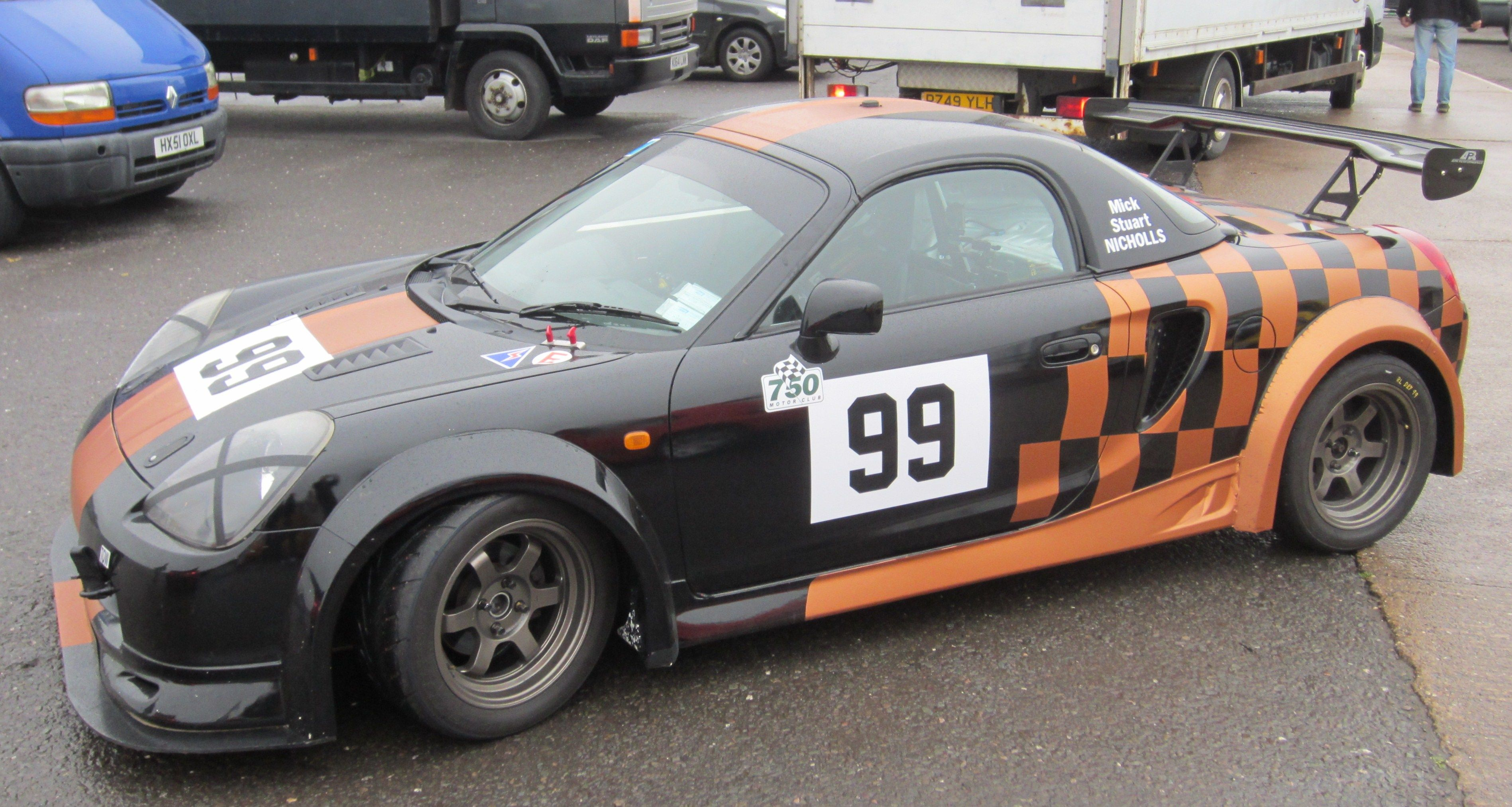 Roadsports Class B - up to 200bhp/ton (Supersport)