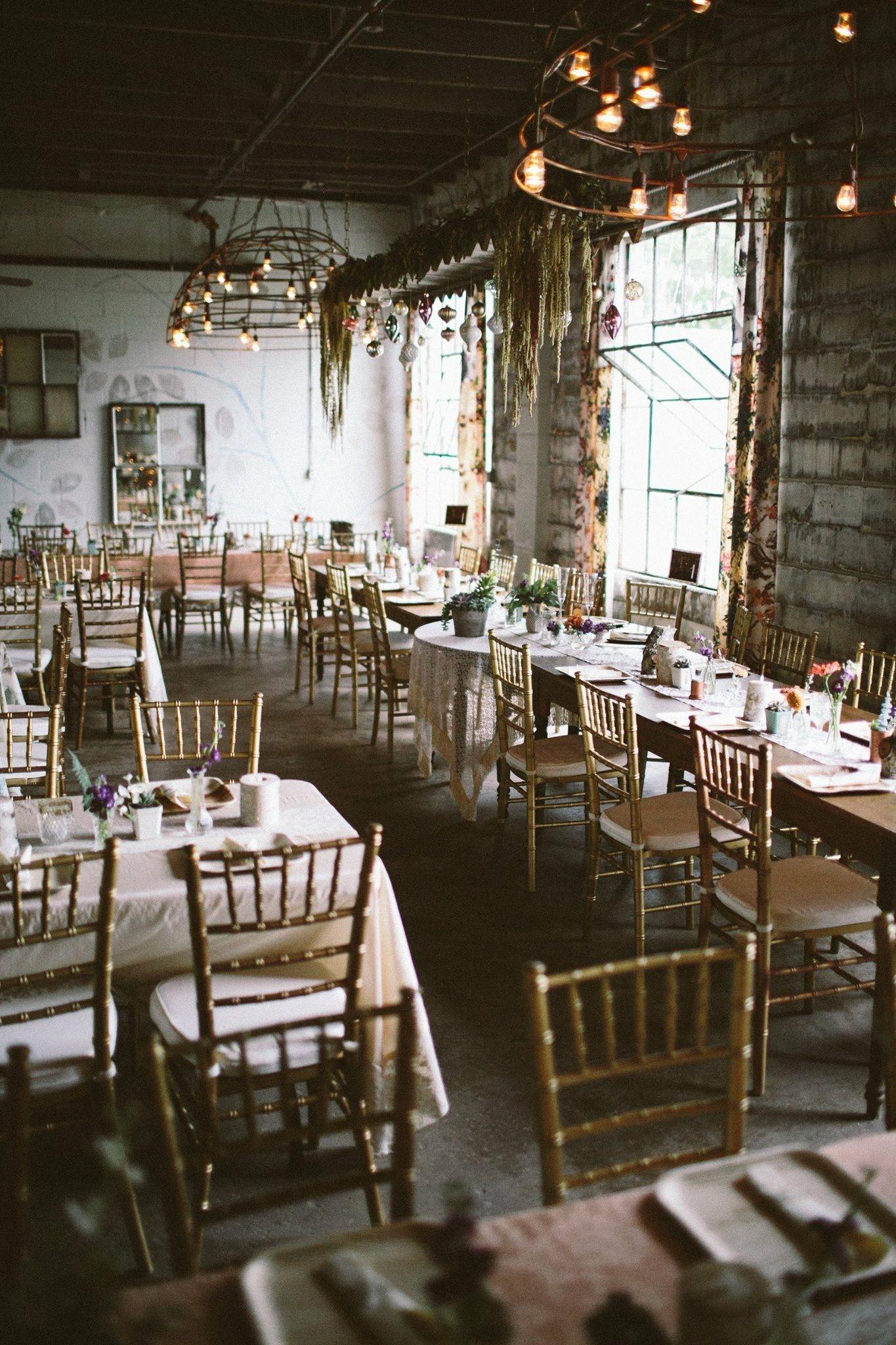 Bohemian Venue Industrial Space Rustic Venue Grand Rapids Bride
