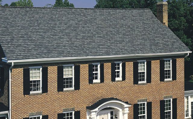 Best Certainteed Grand Manor Colonial Slate Expensive Roofing 400 x 300