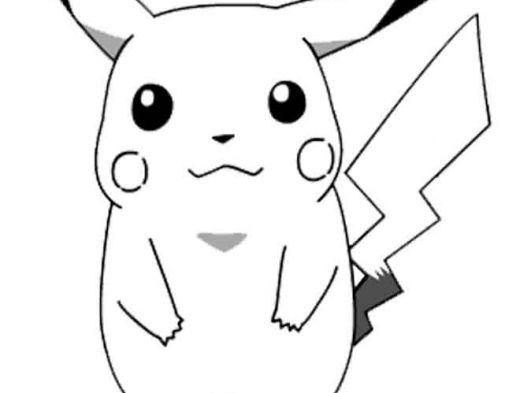 Desenhos Preto E Branco Jpg 520 393 Pokemon Para Colorir