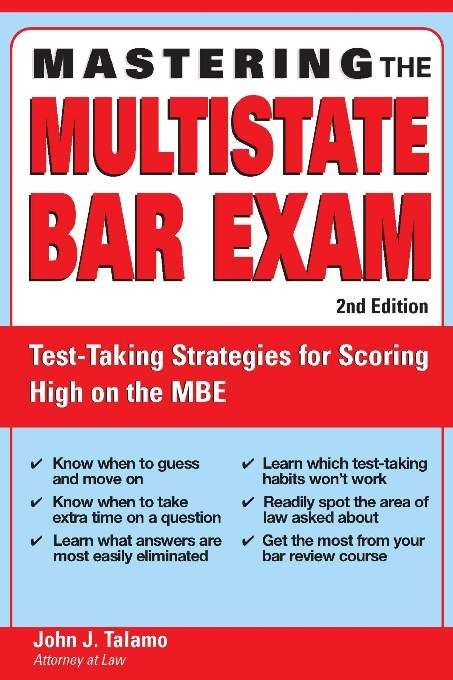 Mastering the Multistate Bar Exam | Professional Careers | Nursing