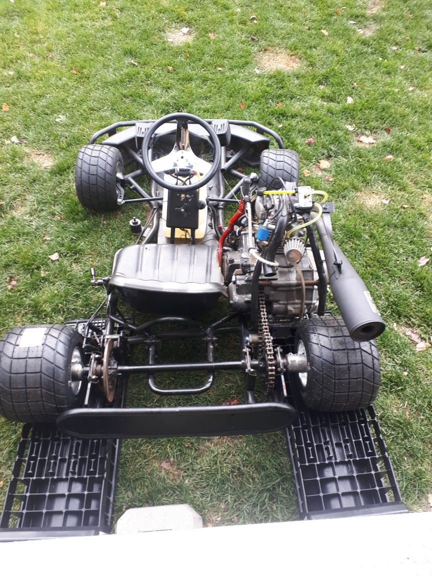 trailer wiring diagram custom cars johnny 5 ready for his first drive karting go kart racing diy go kart [ 864 x 1152 Pixel ]