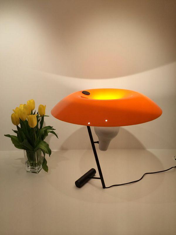 Flos 548 Lamp 548 Table Lamp By Flos Gino Sarfatti Italian 1950s Designer Light Modern Retro Cool Design Lamp Sarfatti 548 Flos Table Lamp From Stardust
