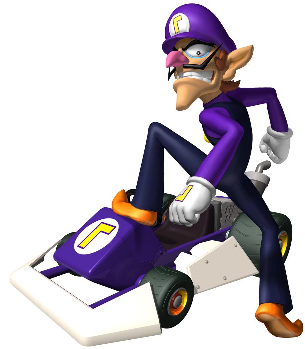 Donkey kong mario kart wii car tuning - Waluigi Mario Kart